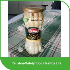 Canned Fresh White Asparagus Spears 370ml/16cm