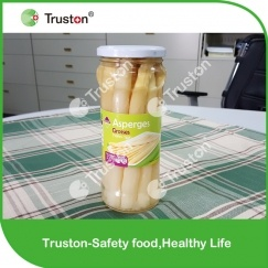 Canned white asparagus 580ml/17cm